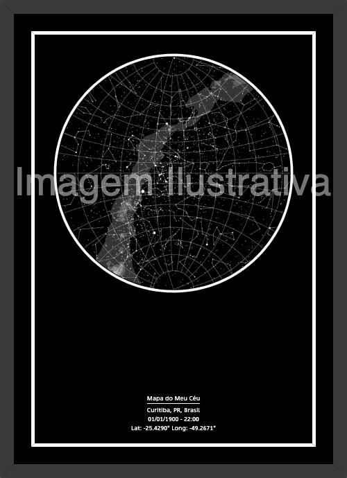 Mapa das Estrelas - Imagem Ilustrativa