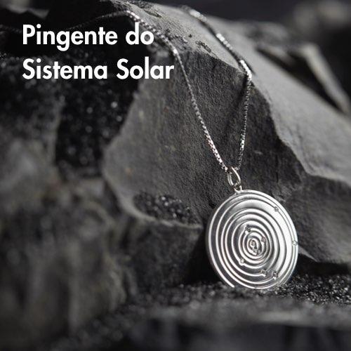 Pingente do Sistema Solar