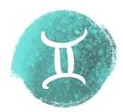 ilustração do signo de gemeos