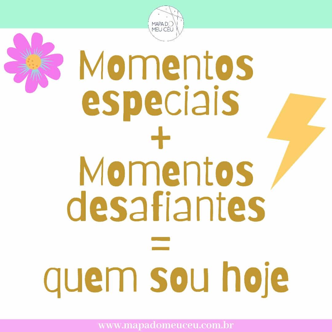 momentos especiais frases