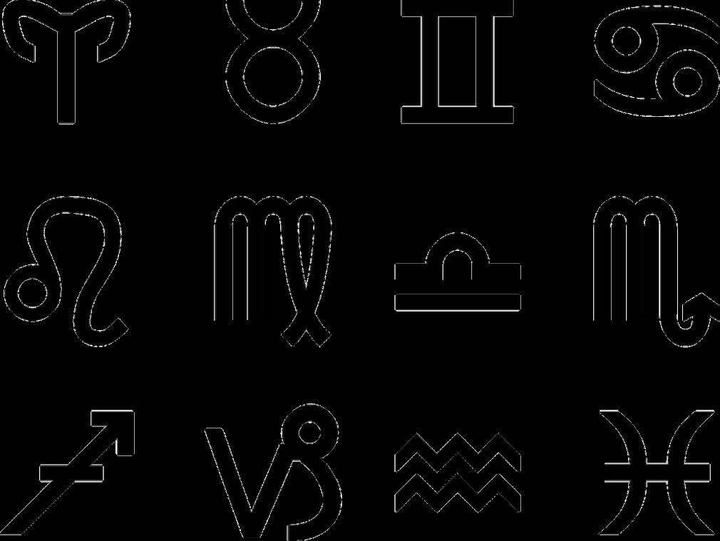 signos que combinam, com os símbolos dos signos do zodíaco