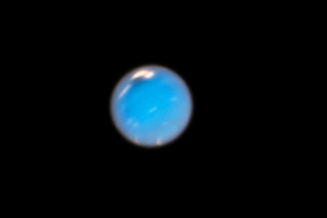 Planeta Urano - Imagem da Nasa