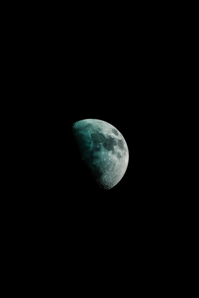 Calendário astronômico 2021 - Eclipse parcial lunar