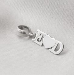 berloque personalizado prata fina