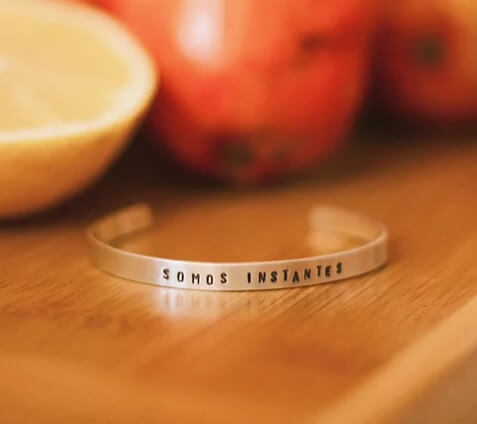 joias personalizadas tout bracelete personalizado