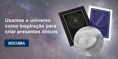 mapa celeste, mapa planetário e pingente personalizado dos planetas em banner