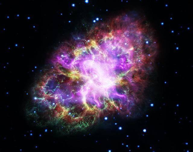 Imagens do universo - Nasa - Nebulosa do Caranguejo