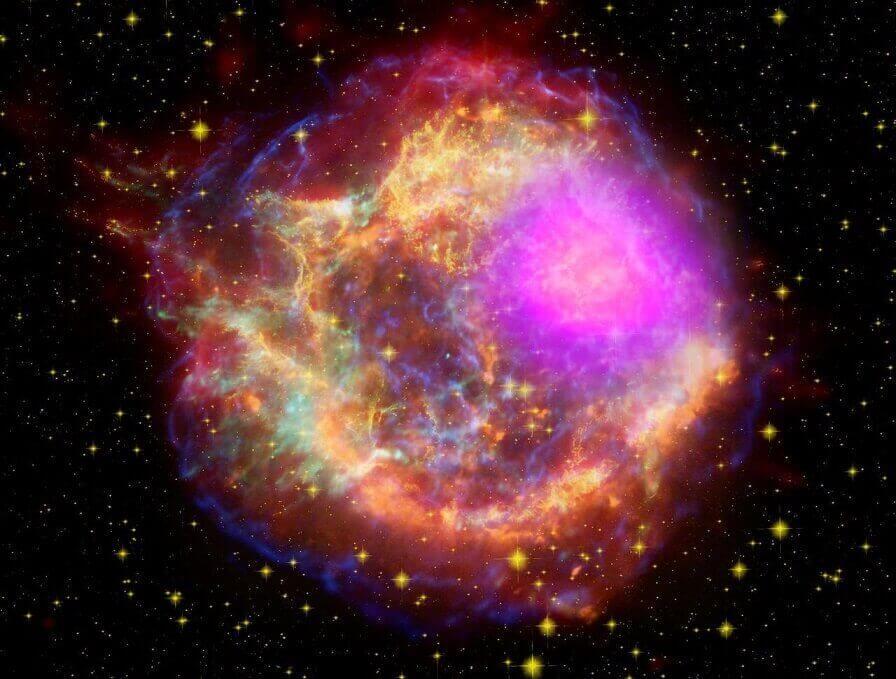 Imagens do universo - Nasa - Supernova energética