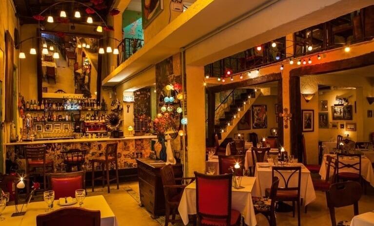 Restaurantes românticos de São Paulo - Ruella