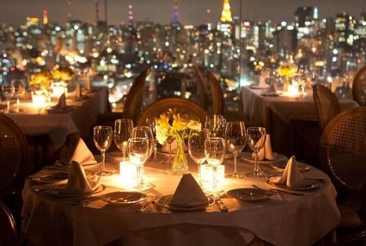 Restaurantes românticos em sp - Terraco Itália