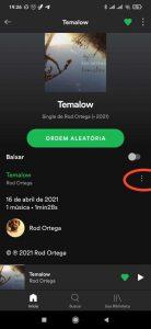 qr code spotify - como pegar link da música