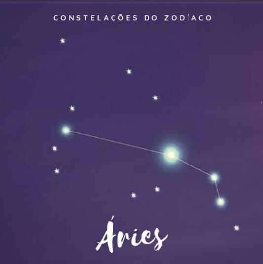 constelação de áries - representação gráfica