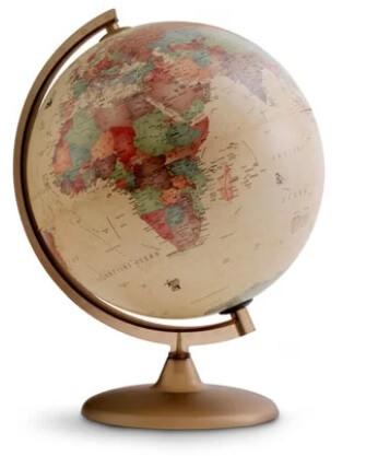 globo terrestre - decoração para casa