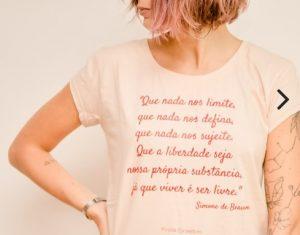 presente para amiga feminista - camiseta