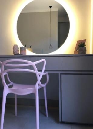 presente para casa - espelho multiuso com led