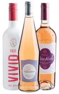presente para mãe vinhos roses