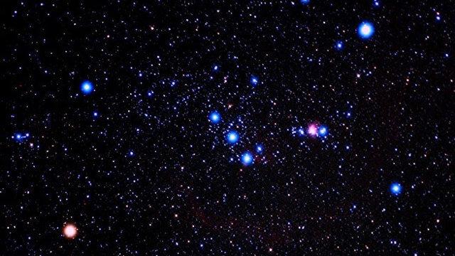 constelações do hemisfério sul - 3 marias na constelação de orion