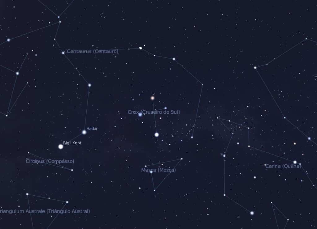 nosso céu - constelacao-cruzeiro-do-sul