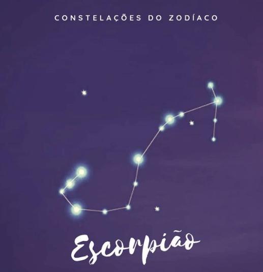 constelação de escorpião