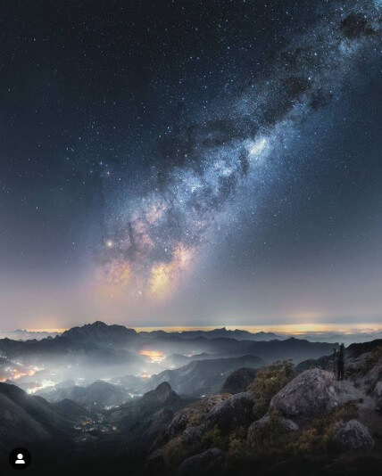 marcos terra - astrofografia da via lactea