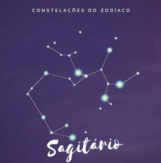 Constelação de Sagitário - representação gráfica