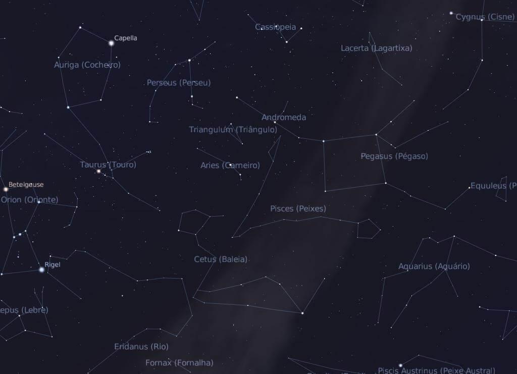 constelação de peixes