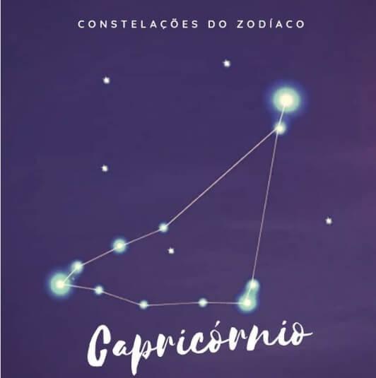 constelação capricórnio representação